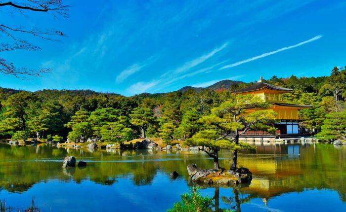 Viaggio in Giappone - Kyoto padiglione d'oro