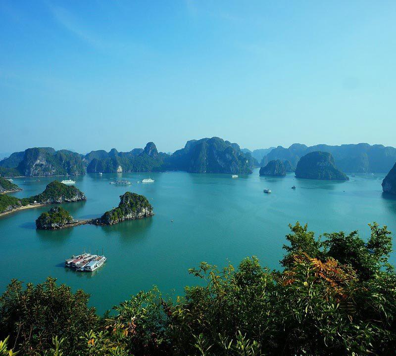 Tour Vietnam e Cambogia- baia di Halong
