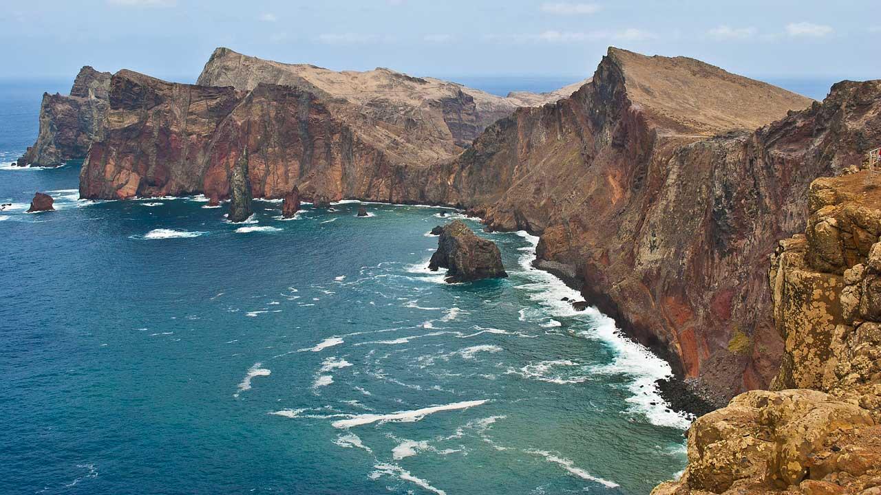 Trekking Madeira roccia costa