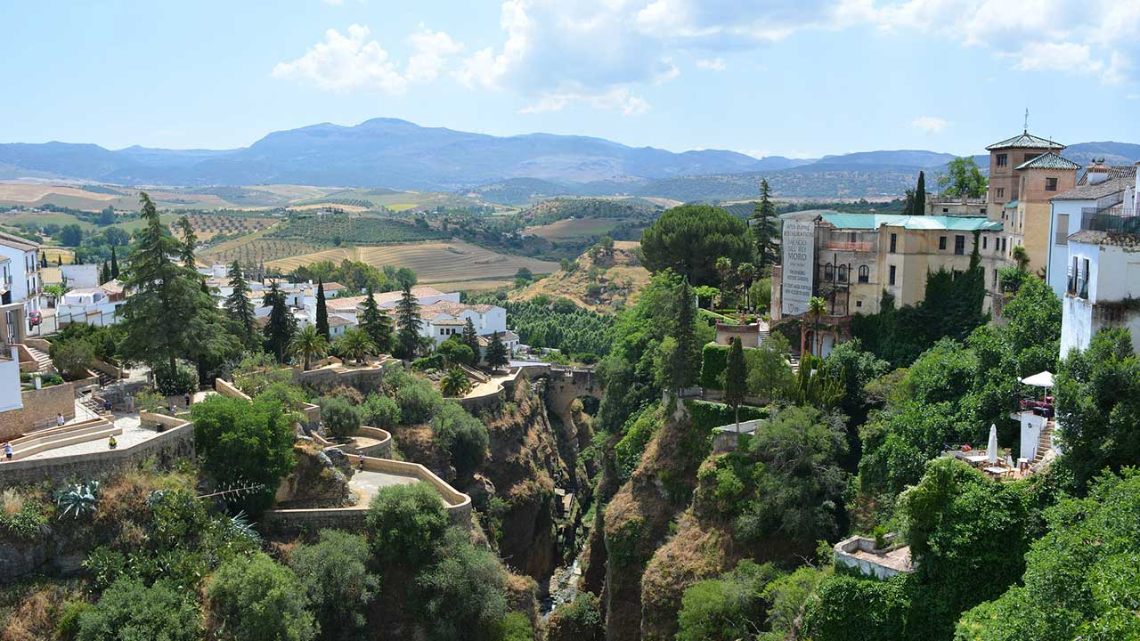 tour andalusia - ronda panorama