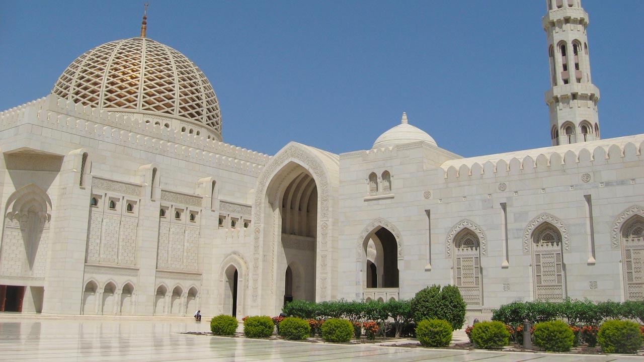 vacanza in Oman - moschea di Muscat