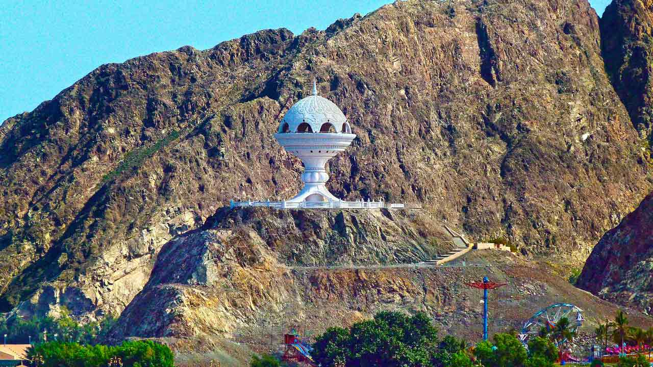 Oman Emirati Arabi - tempio