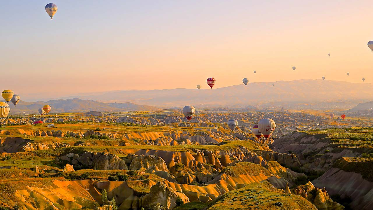 Tour Cappadocia e Turchia - mongolfiere