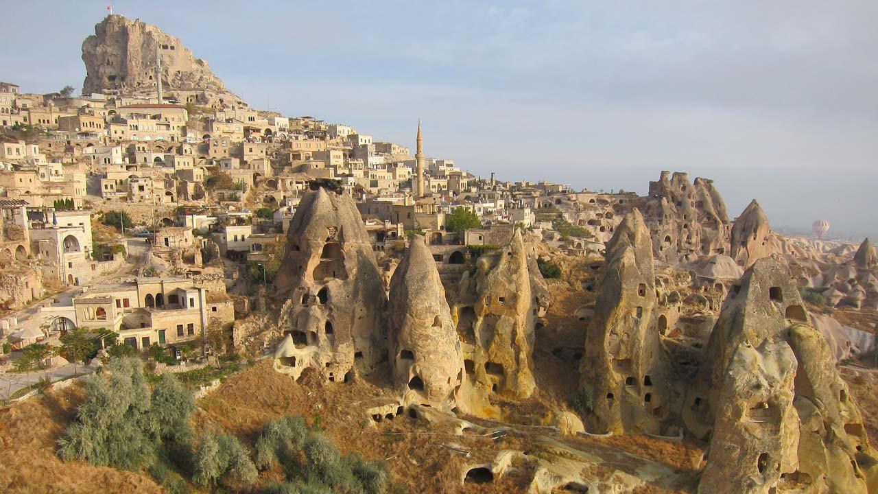 Tour Tuchia - camini delle fate in Cappadocia