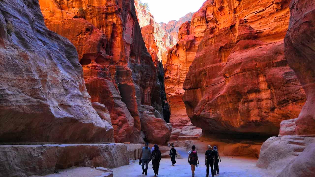 Viaggio in Giordania - canyon