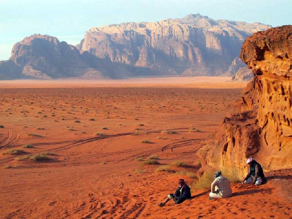 Viaggio in Giordania - deserto berberi
