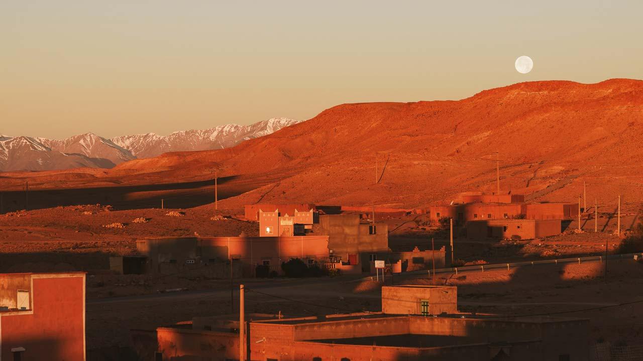 Tour Marocco - tramonto