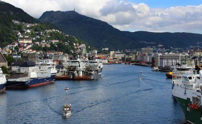 Viaggio fotografico Norvegia Bergen canale