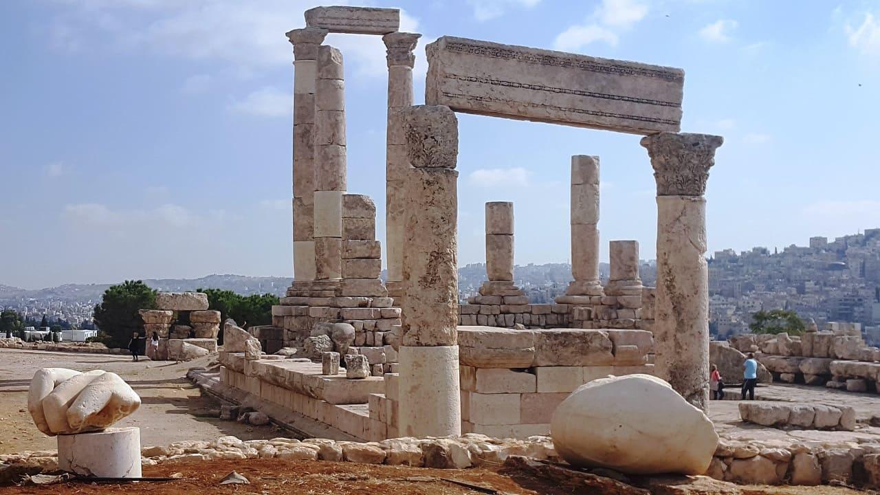 viaggio in Giordania - Amman cittadella