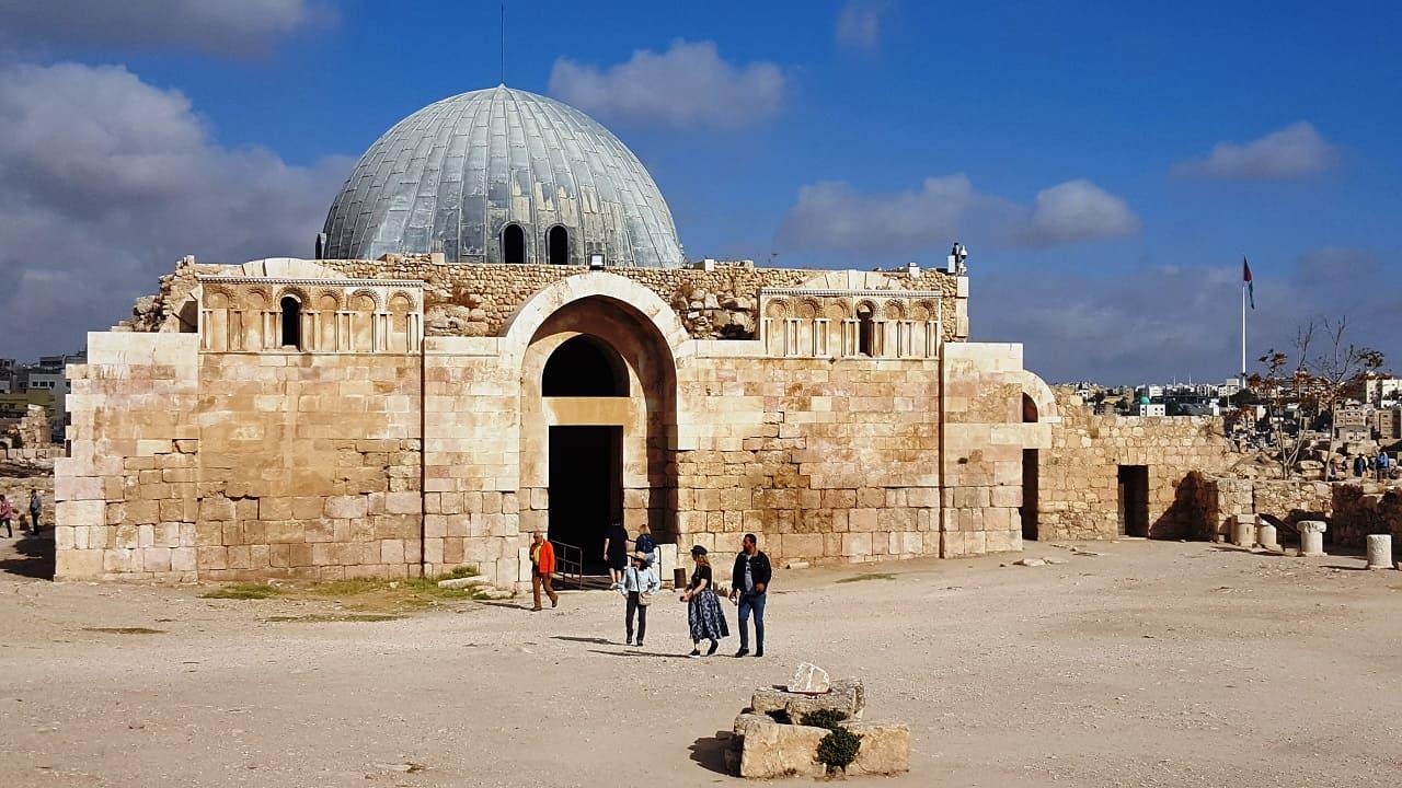 viaggio in Giordania - Amman cittadella moschea