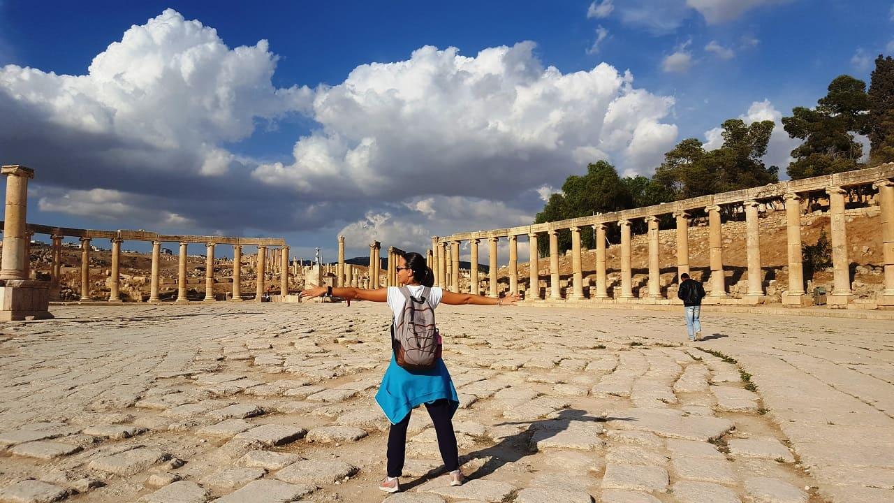 viaggio in Giordania - Jerash