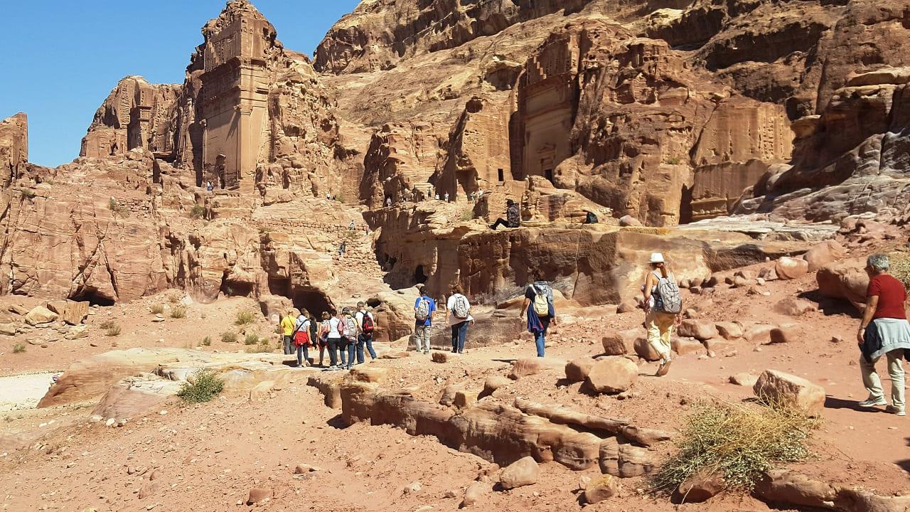 viaggio in Giordania - Petra sito