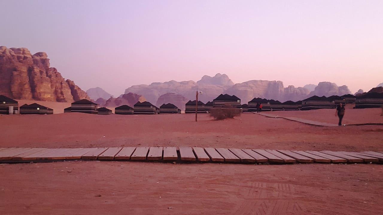 viaggio in Giordania - Wadi Rum deserto campo tendato