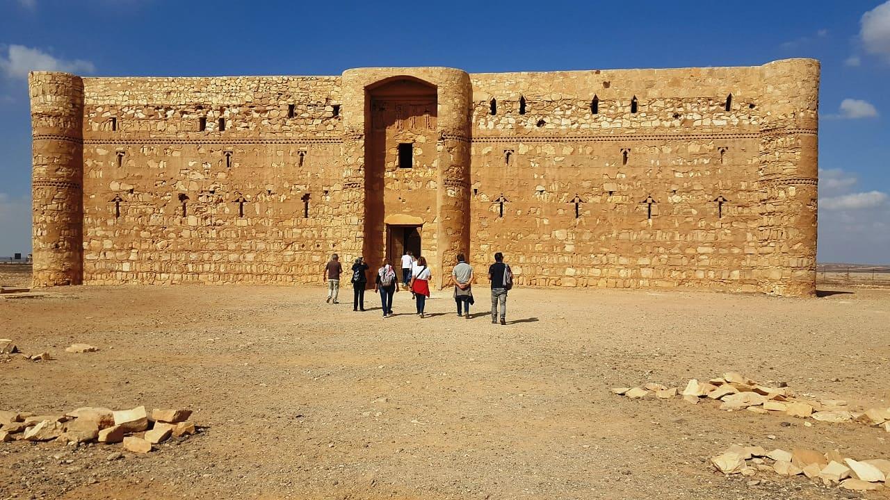 viaggio in Giordania - castelli del deserto