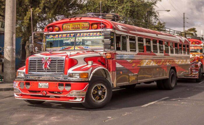 Guatemala quando andare - autobus