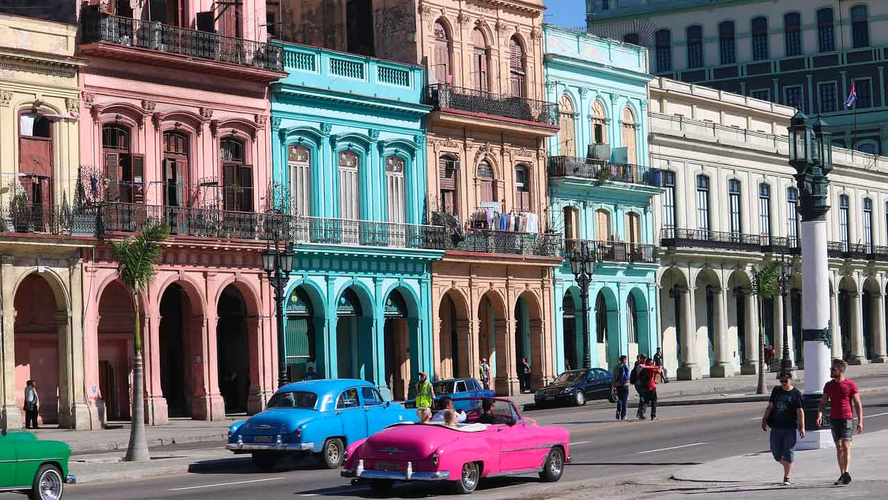 Tour Cuba e mare - centro storico Havana