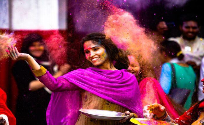 India Tour in Rajastan: Holi Festival