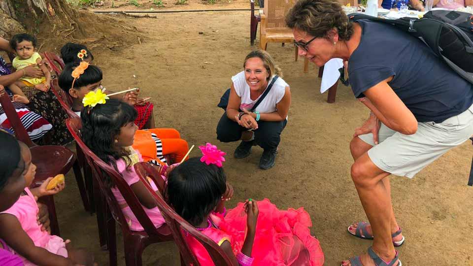 Viaggi solidali Sri lanka: incontro