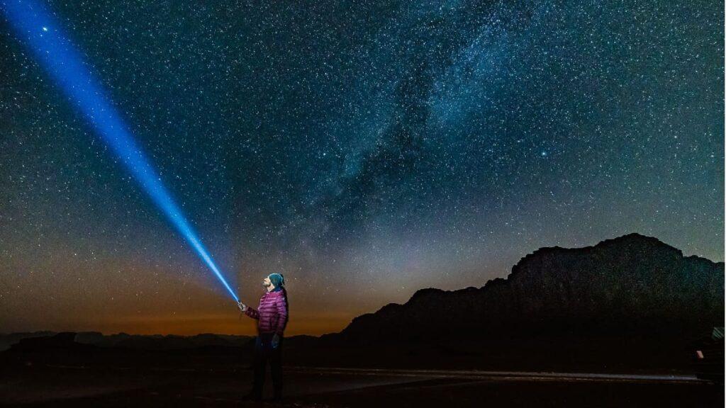 Giordania notte nel deserto