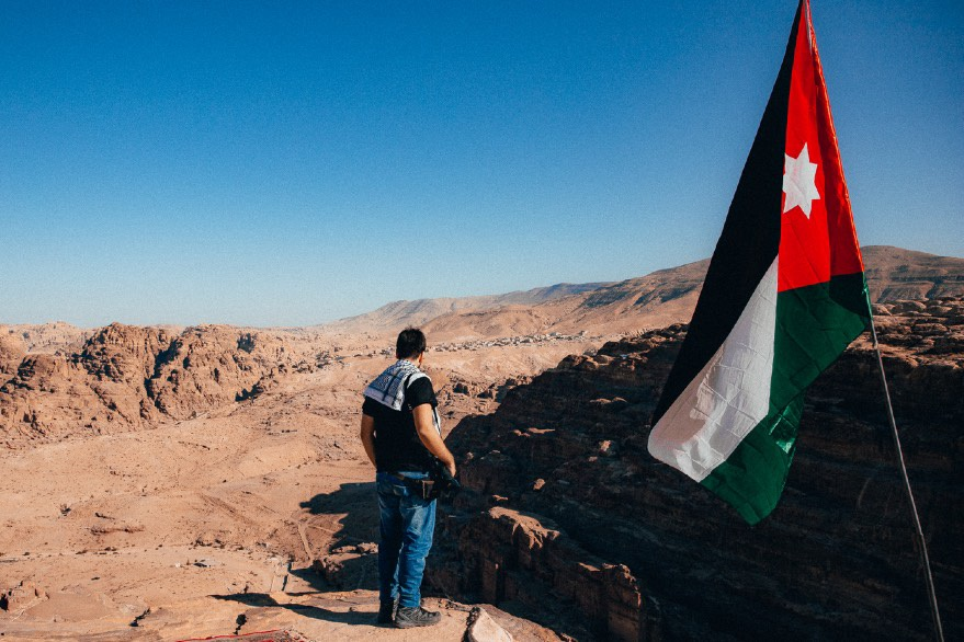 Giordania paesaggio