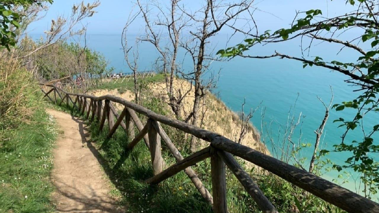 Tour Pesaro in bici - sentiero Parco San Bartolo