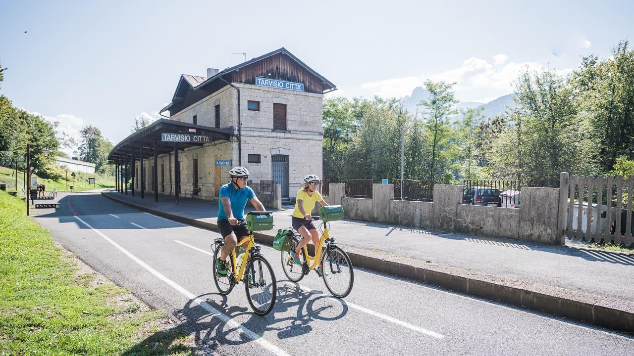 Tour in bici Alpe Adria - Tarvisio