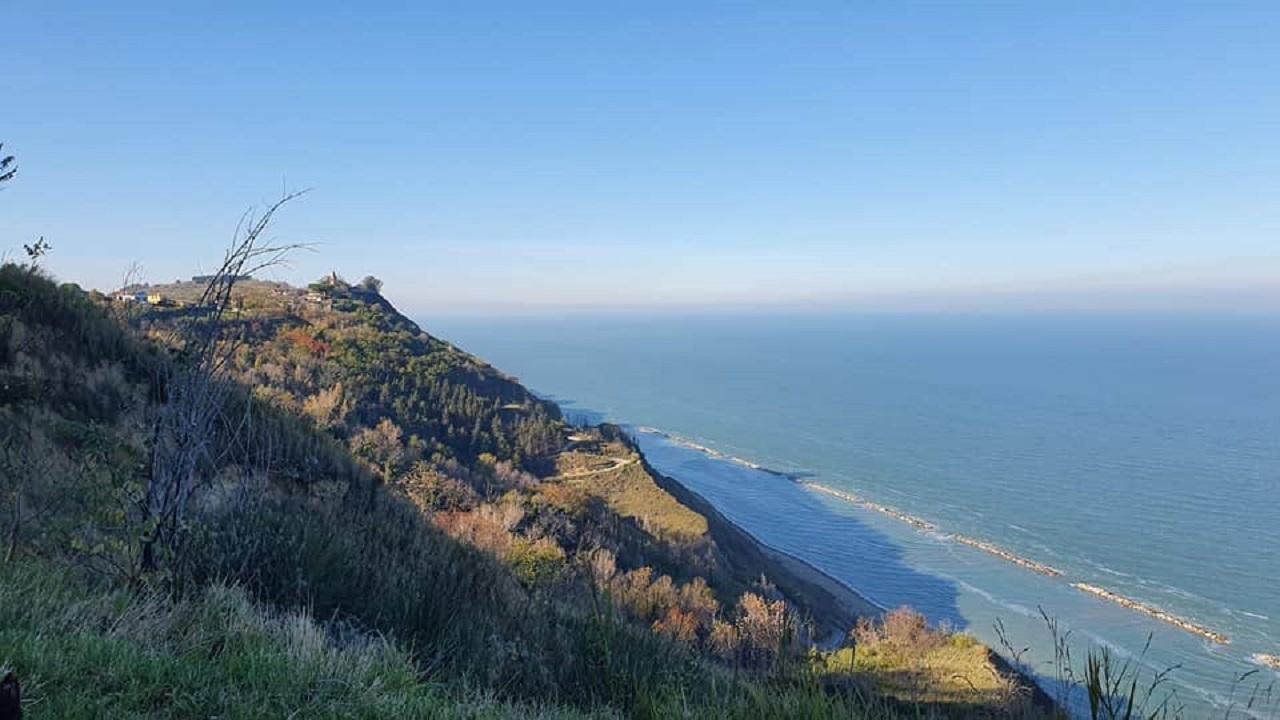 Tour in bici Pesaro - Parco Regionale San Bartolo vista panoramica