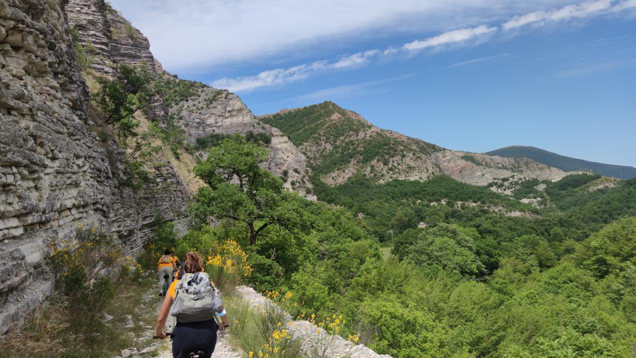 Bike and trek Monte Nerone